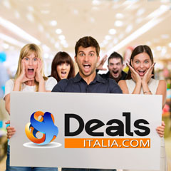 Deals Italia selects everyday the best deals of the day for you with discount up 70%!